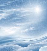 Background of snow — Stock Photo