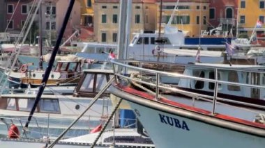 Boats and yachts — Stock Video