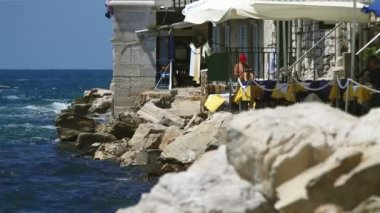 Croatian coastline, — Stock Video