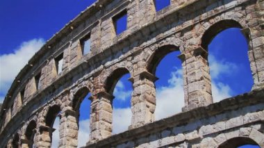 Anfiteatro romano di pola — Video Stock