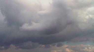 Overcast sky — Stock Video