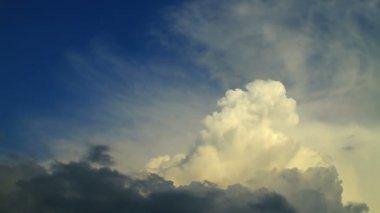 Beautiful cloudscape — Stock Video