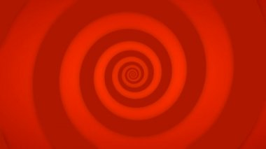 Seamlessly looping spinning spiral — Stock Video