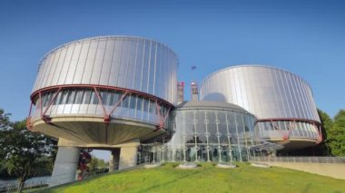 The European Court of Human Rights — Stock Video