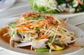 Crab Som Tum — Stock Photo