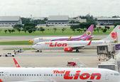 Airplane thailand — Stockfoto