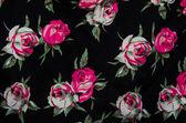 Fabric pattern flower — Stock Photo