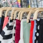 Colorful Pants rack — Stock Photo #57128847