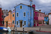 Case di Burano — Stock Photo