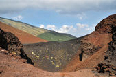 Cratere sull'Etna — 图库照片