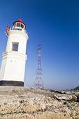 Faro sulla costa — Foto Stock