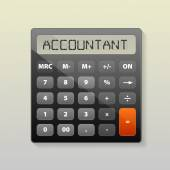 Calculator image — Stock Vector