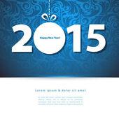 Calendario para el año 2015 — Vector de stock