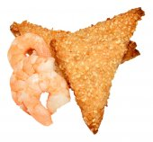 Chinese Sesame Seed Prawn Toast — Stock Photo