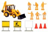 Toy Construction Play Set — Stock Photo