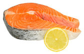 Fresh Uncooked Salmon Steaks — Stock Photo