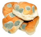 Mouldy Bread Rolls — Stock Photo