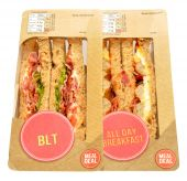 Packs Of Sandwiches — Stock Photo