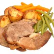 Roast Lamb Meal — Stock Photo #55577645