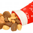 Christmas Nuts — Stock Photo #58637015