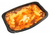 Shop Bought Beef Lasagne — Stock Photo