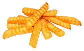 Crinkle Cut Chips — Stock Photo