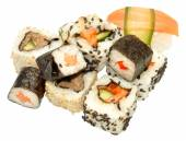 Sushi isolato — Foto Stock