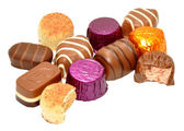 Group Of Chocolates — Stock Photo
