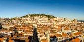 Panorama de lisboa antiga — Foto Stock
