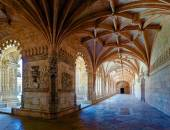 Cloister of the Jeronimos — Stock Photo