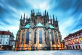 St. Vitus Cathedral in Prague, Czech Republic. — Stock Photo