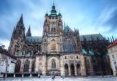 St. vitus katedrali prag, çek cumhuriyeti. — Stok fotoğraf