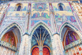 Mosaic of the Last Judgement St. Vitus Cathedral — Stock Photo