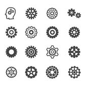 Gear icons — Stock Vector