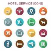 Hotel service icons — Stock Vector