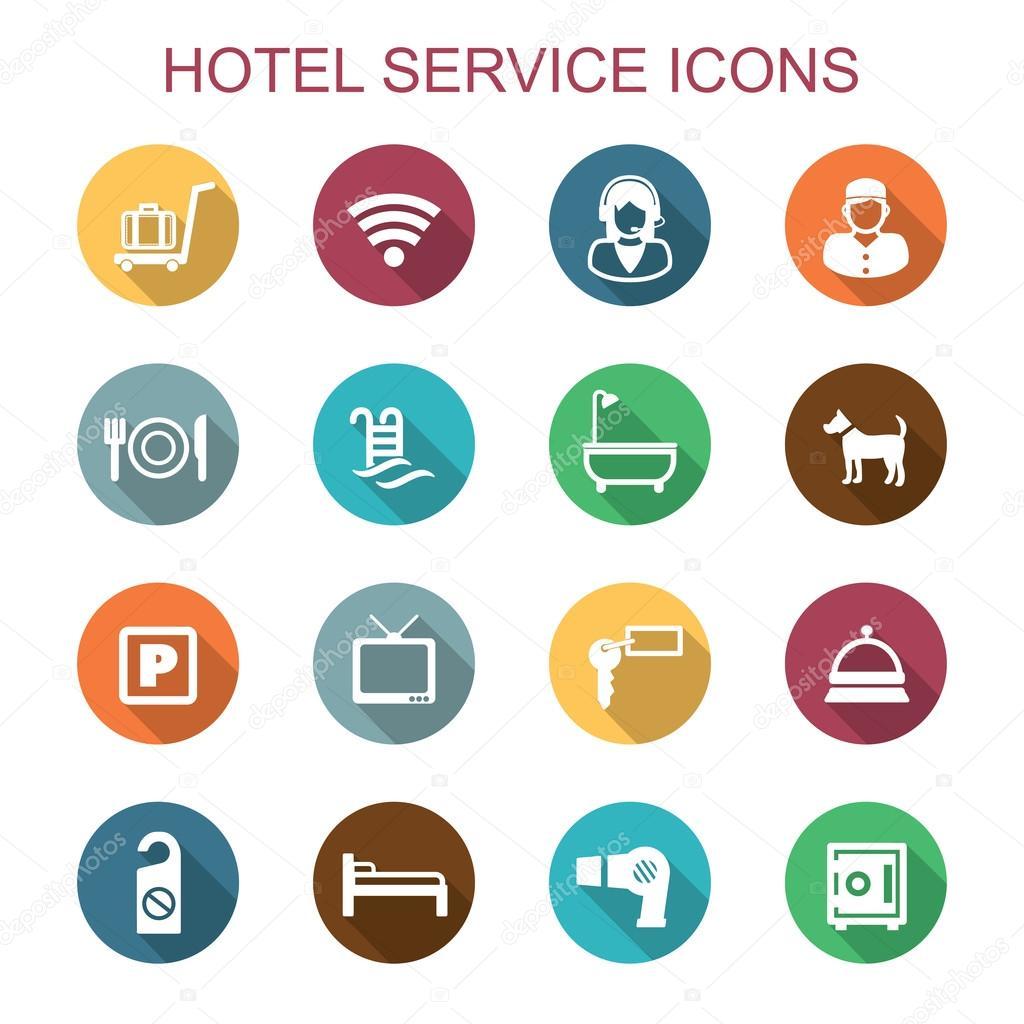 酒店服务图标 — 图库矢量图片 #59500477