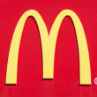 Постер, плакат: McDonalds logo on red background