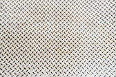 Close up white metal floor texture background detail — Foto Stock