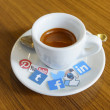 Постер, плакат: CHIANG MAI THAILAND SEPTEMBER 24 2014: Social media brands p