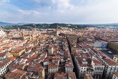 View of the Cathedral Santa Maria del Fiore in Florence, Italy — Stock Photo