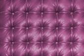 Old vintage pink leather chair close up detail — Stock Photo