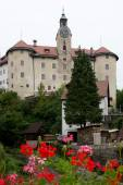 Gewerkenegg Castle in Idrija — Stock Photo