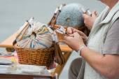 Lace Handcraft — Stock Photo