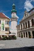 Firewatch toren in sopron — Stockfoto