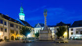 Torget i sopron — Stockfoto