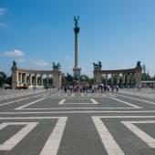 Heroes' square — Stock Photo