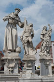 Statue of the Holy Column in Maribor — Photo