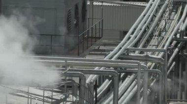 Tube steam — Stock Video