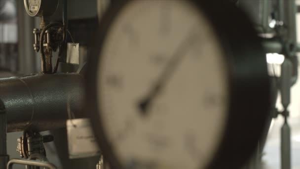 Manómetro — Vídeo de stock
