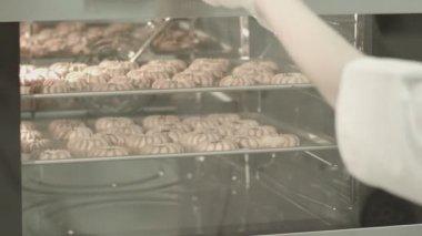 Making cookies — Stock Video